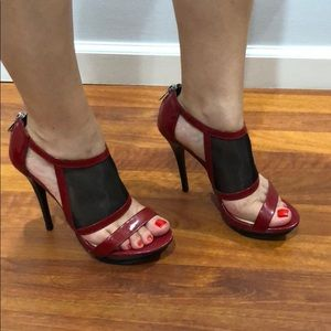 Sexy red heels from Michael Kors